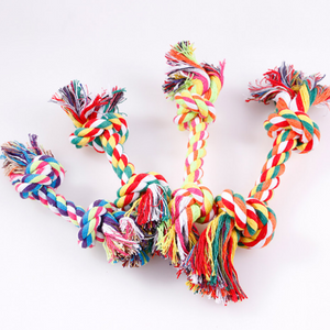Rope chew dog toy any color
