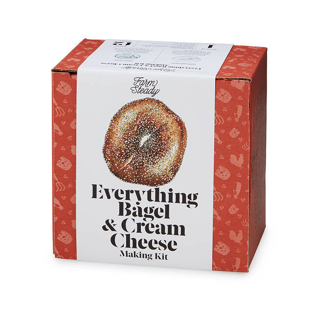 Artisan Bagel & Cream Cheese Making Kit