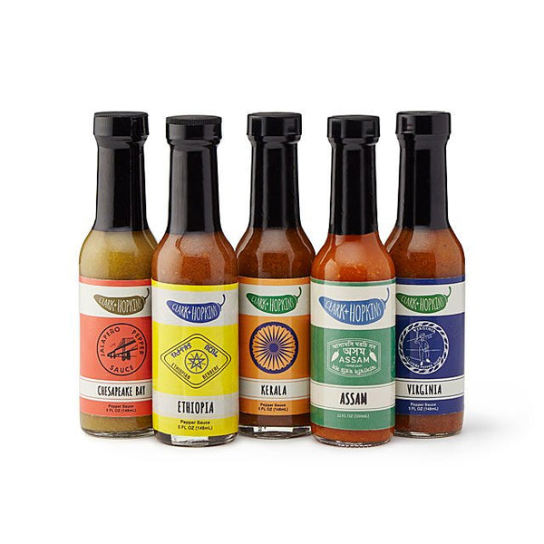 Around the World Hot Sauce Gift Box