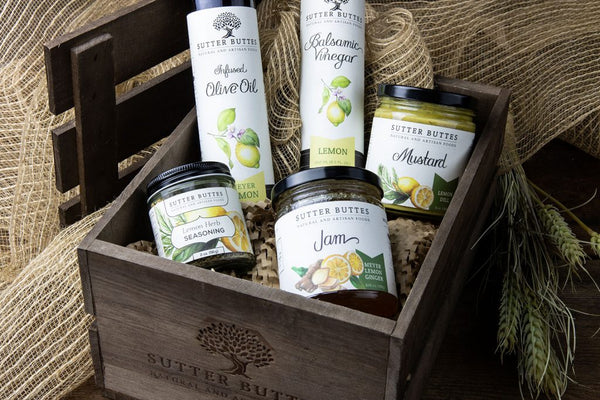 California Countryside Lemon Gift Crate