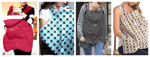 Sling & Carrier Cover and well as Breastfeeding covers.  Also other accessories that will be considered invaluable