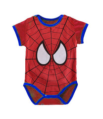 Babygrow Grow Vest Romper Cotton Bodysuit: Captain America Suit