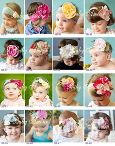 Infant Children Kids Adorable Little Baby Headbands
