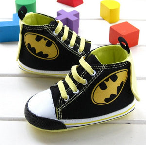 Children's Superhero Shoes: Batman / Batgirl Baby Boots