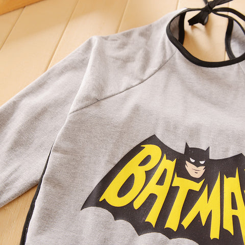 Bib With Sleeves: Batman