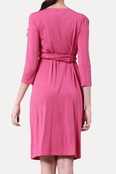 pink pregnancy dresses for weddings