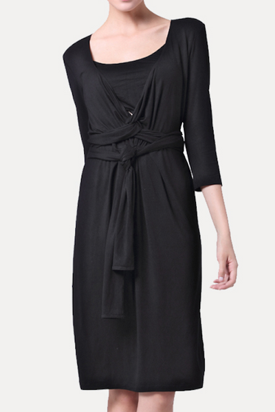 black nursing dresses for weddings
