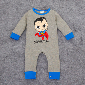 Superhero Onesie: Superman Cartoon