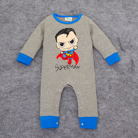 Superhero Sleepsuit Onesie: Superman Cartoon