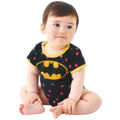 Babygrow Grow Vest Romper Cotton Bodysuit: Batman Suit