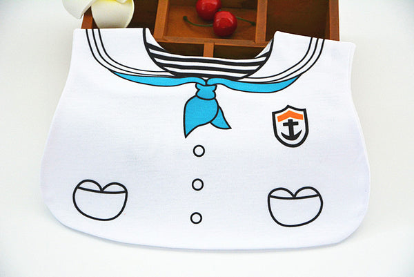 Aye Aye Captain! Sailor Bib