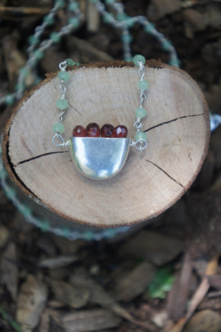 Prosperity Basket with Garnet
