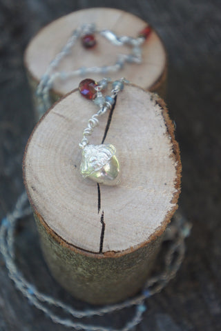Acorn Labradorite Necklace