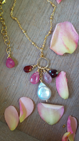 Pink Prosperity Necklace