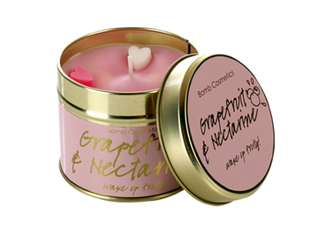 Grapefruit & Nectrine Tin Candle