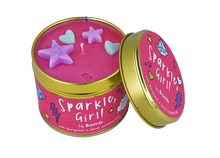 Sparkle, Girl! Tin Candle