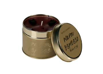 Warm Expresso Tin Candle Case 4