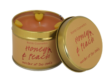 Honey & Peach Tin Candle