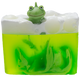 Its not Easy Being Green Soap Sliced