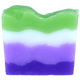 Purple Kiwi Soap Sliced
