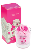 Sweet love Piped Candle