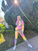 Load image into Gallery viewer, Sunrise tie dye Hoodie