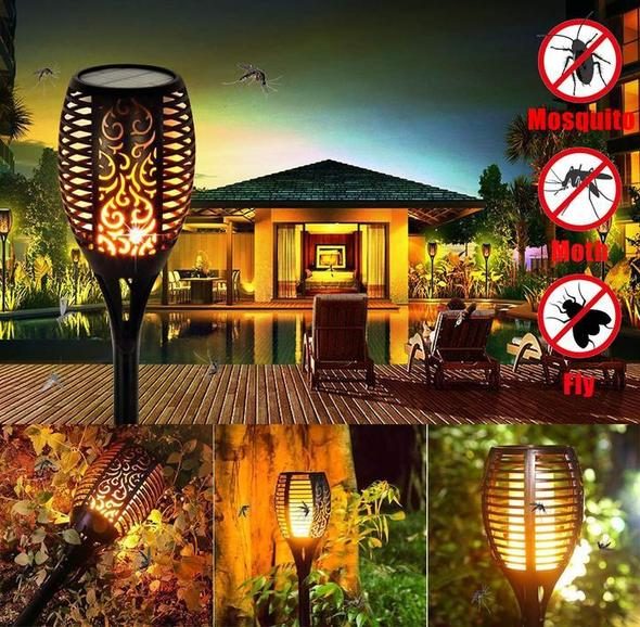 (BUY 6 FREE SHIPPING) Summer Mosquito repellent- SOLAR FLAME TORCH