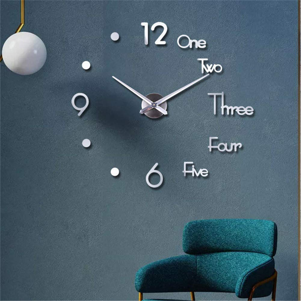3D DIY Creative Wall Clock