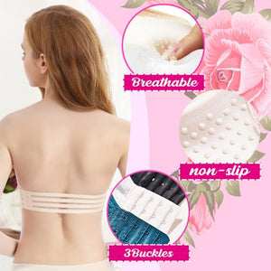 (50% OFF)Lace Strapless Bandeau(Buy 2 Free shipping)