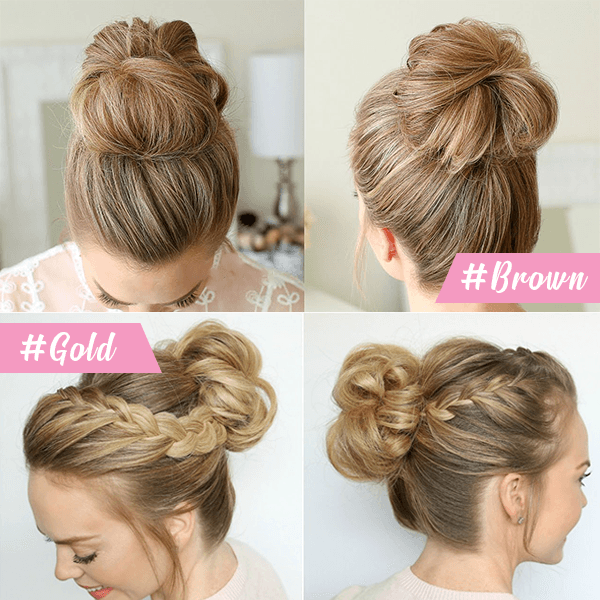 (🔥Pre-Christmas Sales)Easy-To-Wear Stylish Hair Scrunchies
