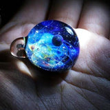 Planetary Sky Necklace Glass Ball