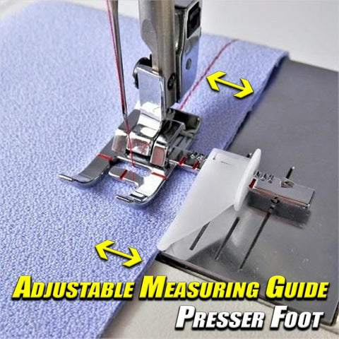 Adjustable Measuring Guide Presser Foot