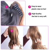 Claw-On Pony Tail Extension
