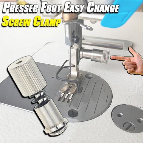 Presser Foot Easy Change Screw Clamp