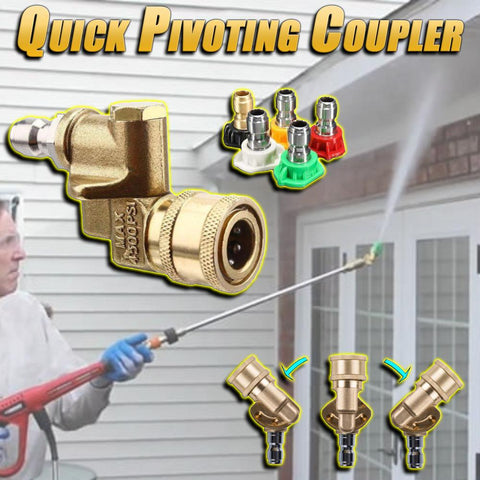 Quick Pivoting Coupler