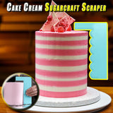 Cake Cream Sugarcraft Scraper