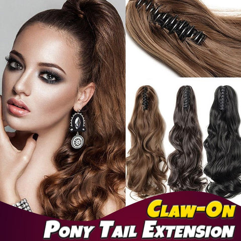 Claw-On Pony Tail Extension (Special)