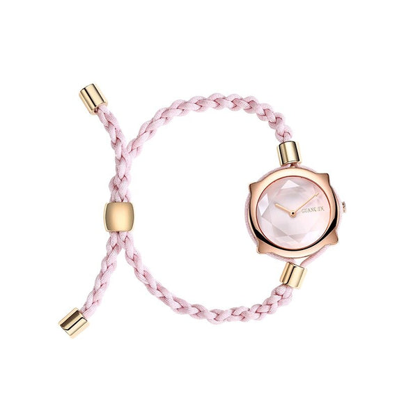 Fashion Dress Women Watches With Knot Strap