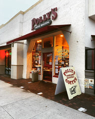 Polly's Gourmet Coffee Storefront
