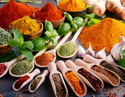 Herbs, Spices & Seasonings