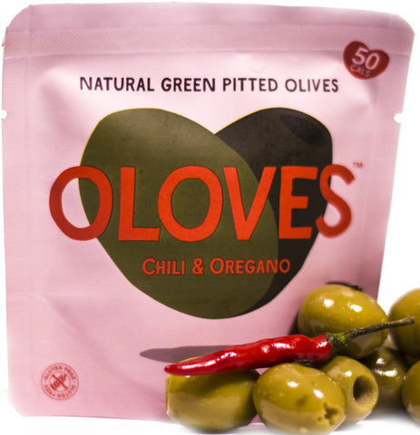 OLOVES - Natural Green Pitted Olives