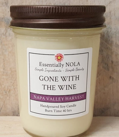 Candle - Gone With The Wine Soy Candle