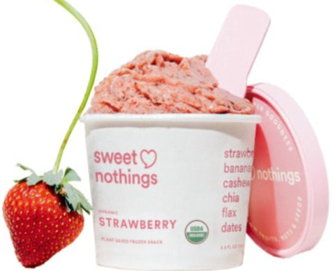 Sweet Nothings - Strawberry (Plant Based Frozen Smoothie)