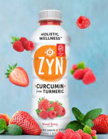 ZYN- Curmin & Piperine Infused Beverages