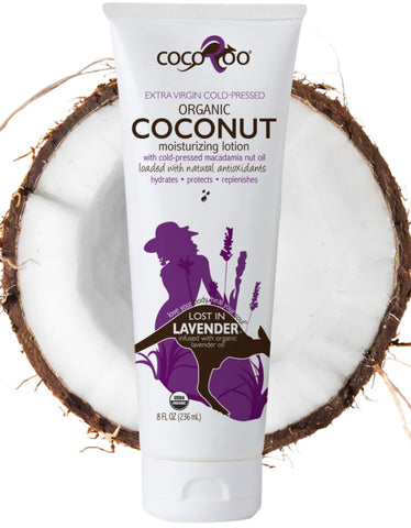 Lost in Lavender -Organic Coconut Moisturizing Lotion