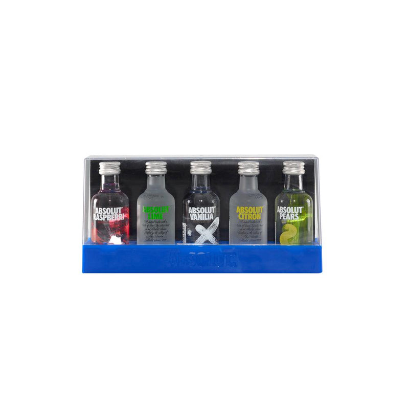 Comprar online Absolut Five minis 5X50 ml. Mercato tu mercado digital