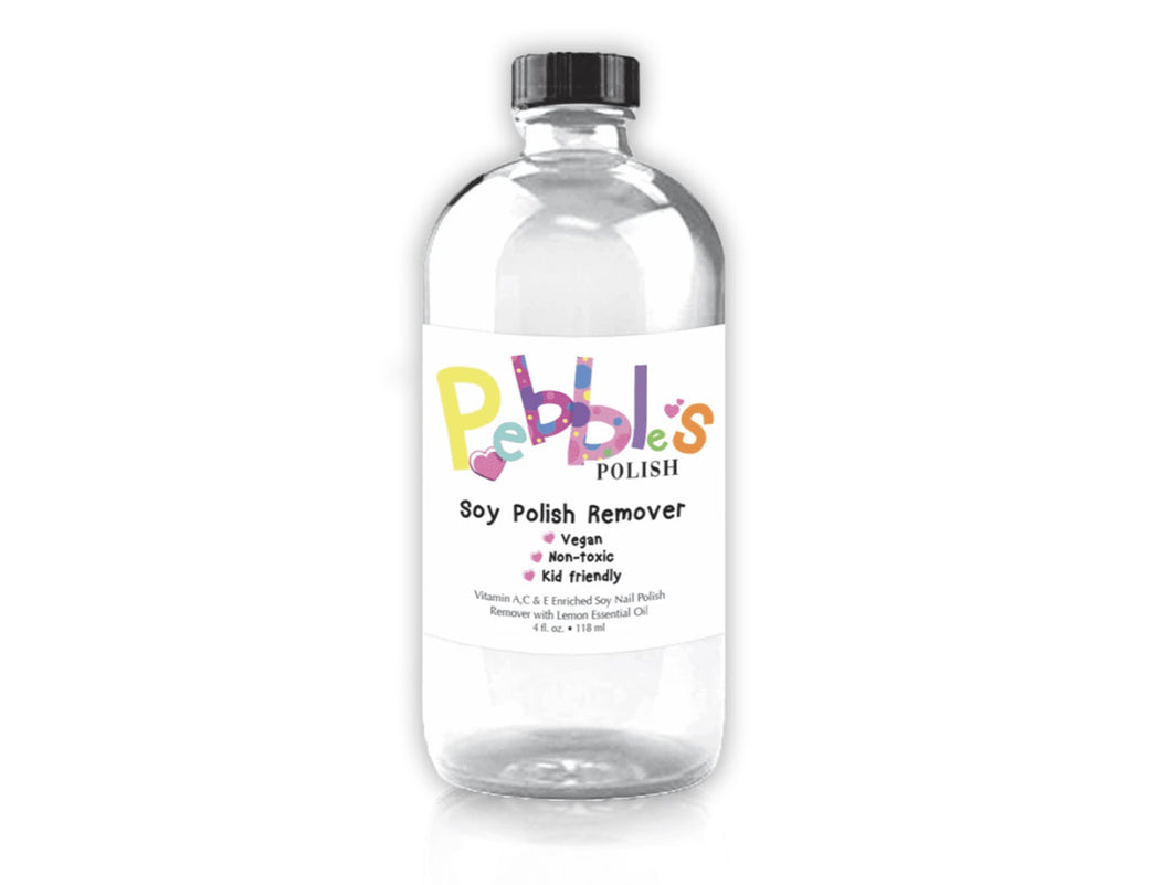 Pebble's Soy Nail Polish Remover