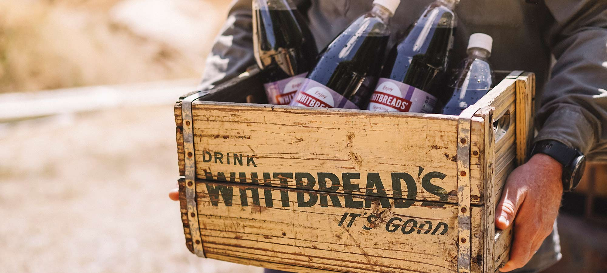 Whitbreads History Vintage Crate