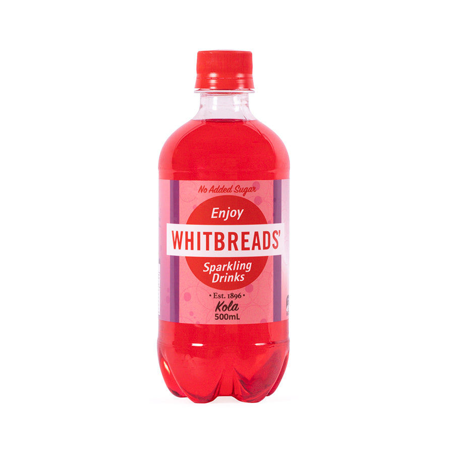 Whitbreads' Kola No Added Sugar 500ml Soft Drink