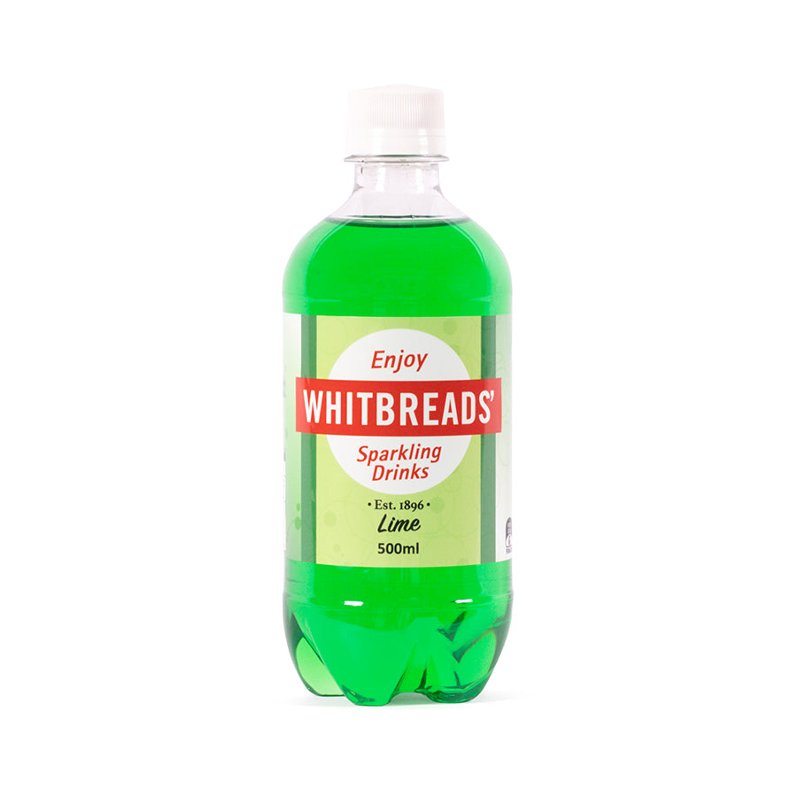 Whitbreads' Lime 500ml Soft Drink